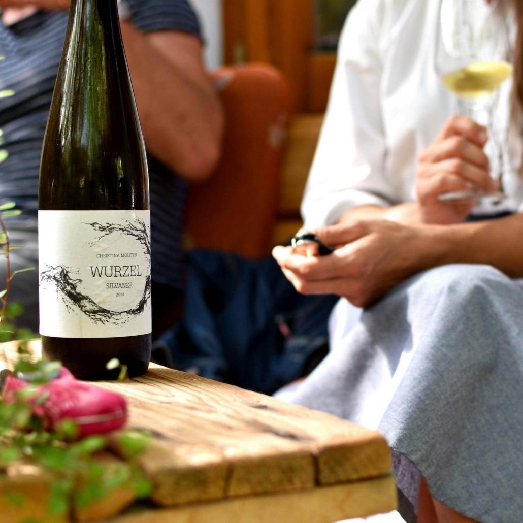 Christina Molitor Nordheim am Main Weinprobe Wein Wurzel Silvaner