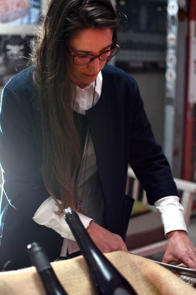 Christina Molitor Nordheim am Main Weinprobe Ausschank