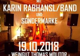 Weingut Thomas Molitor Nordheim am Main Konzert mit Karin Rabhansl