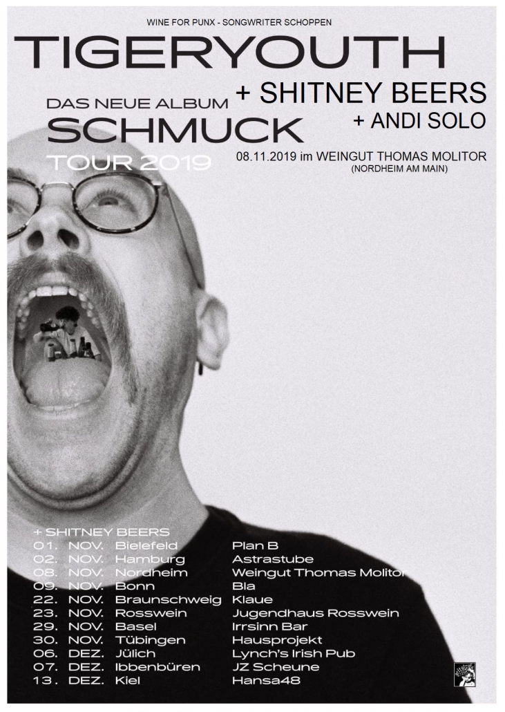 Weingut Thomas Molitor Nordheim am Main Songwriter Schoppen Wine for Punx Tigeryouth Shitney Beers Andi Solo