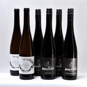 Weingut Thomas Molitor Nordheim am Main Weinflaschen Sechser Reif