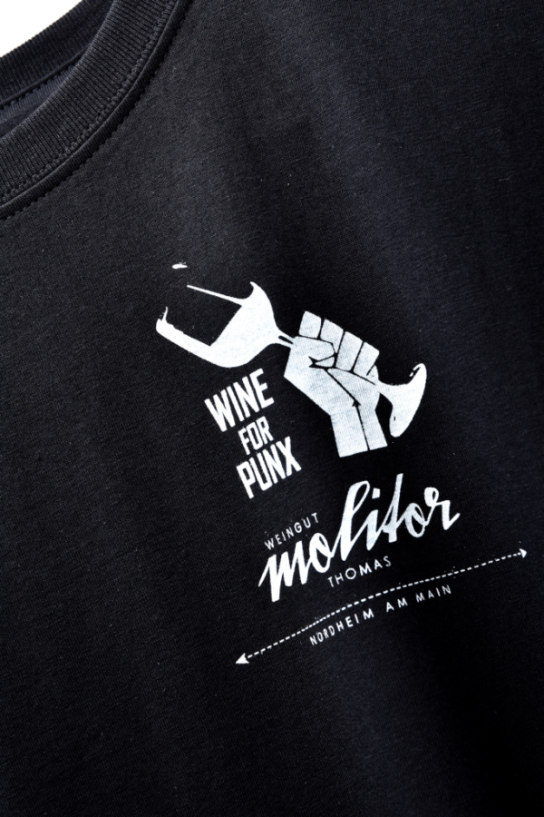 Weingut Thomas Molitor Nordheim am Main Wine for Punx T-Shirt CloseUp