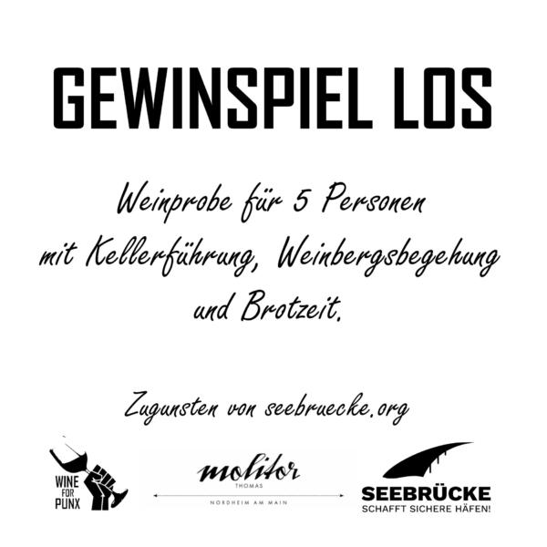 Weingut Thomas Molitor Nordheim am Main Gewinnspiel Los Wine for Punx Seebrücke