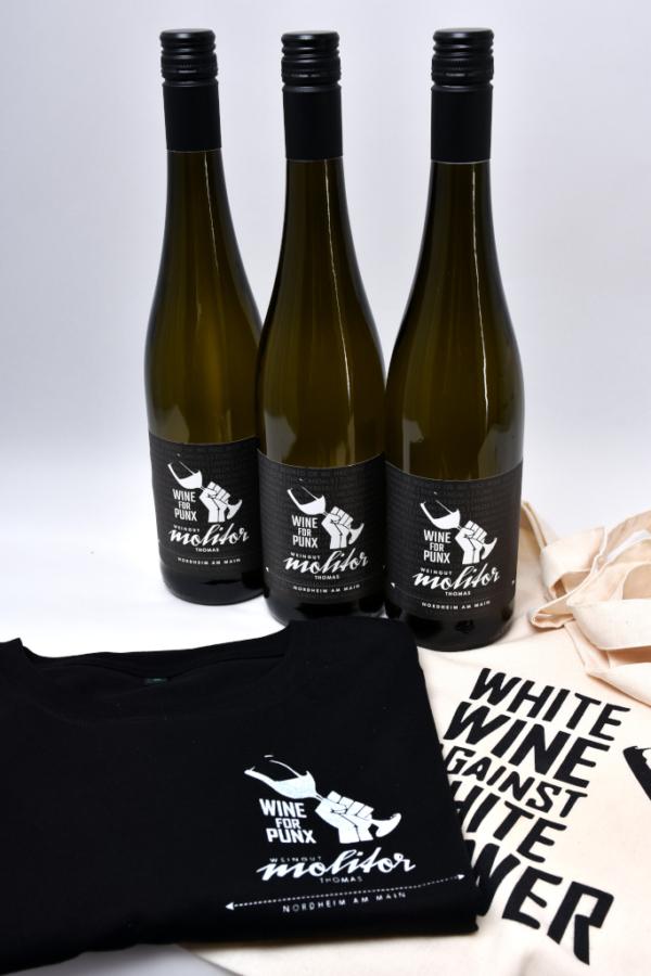 Weingut Thomas Molitor Nordheim am Main Wine for Punx Paket komplett